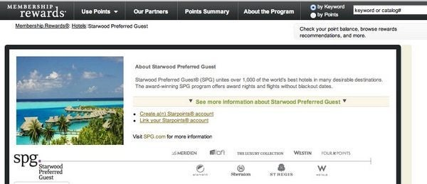 Starwood Points