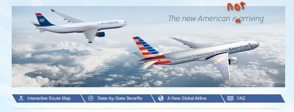 US Air American Air merger cancelled