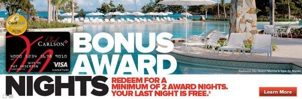 $1,000 Gift Cards And Club Carlson Gold Status Winners!
