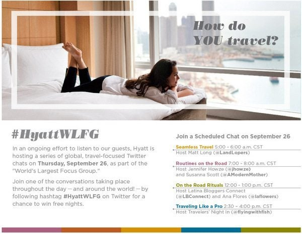 Hyatt Twitter Party is Today