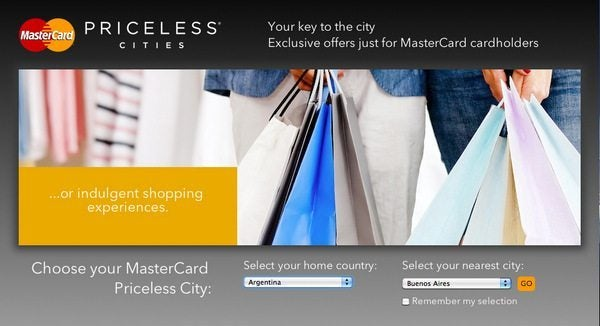Discounts and Special Experiences With MasterCard Priceless Cities