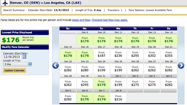 Airlines Are Matching The Southwest Fare Sale