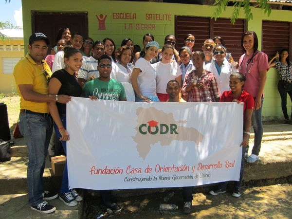 Hardy With CODR Staff And Students