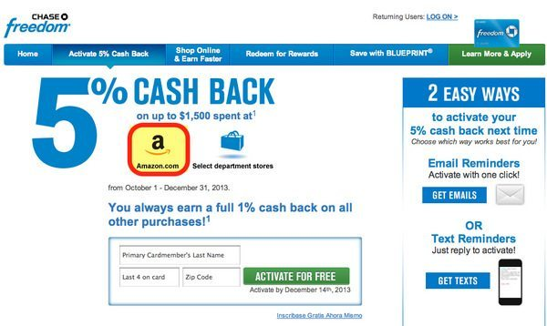 Chase bank coupons november 2018