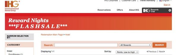 Great Deals (Up to 75% Off) on Holiday Inn, InterContinental etc. Hotels!