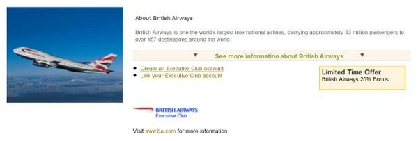 Membership Rewards 20% Transfer Bonus to British Airways and 30% Bonus to Virgin Atlantic