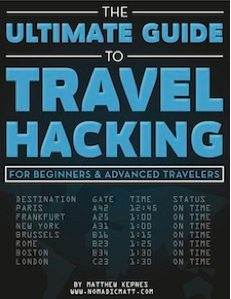 Nomadic Matt's The Ultimate Guide To Travel Hacking E-Book Only $37