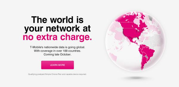 T-Mobile Gives You Free International Data…at Slow 2G Speeds