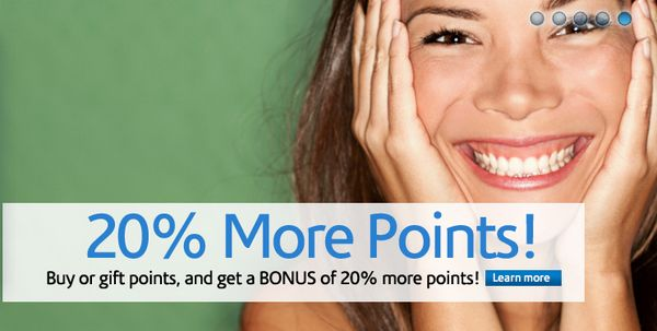 Wyndham Points 20 Bonus