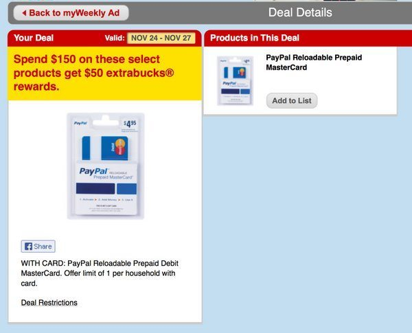 Buy prepaid mastercard with paypal / Peoples bank al