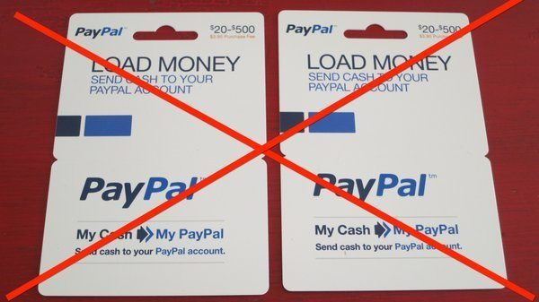 does paypal accept prepaid debit cards