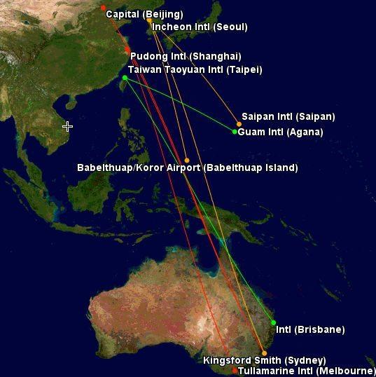 United Miles To Australia, New Zealand And Oceania