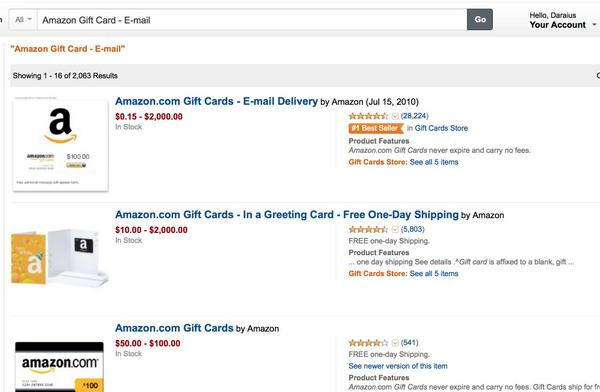 Buy $75 Amazon Gift Cards & add Them to Your Amazon.com Balance!