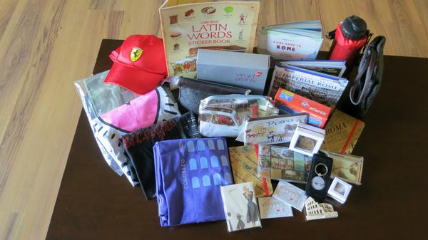 Our 2nd Anniversary Trip to Italy Blog Giveaway Winners!