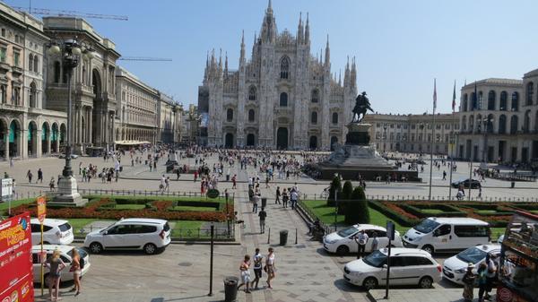 Eating In Milan