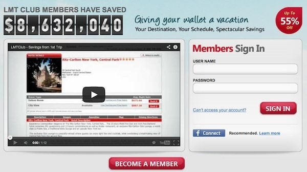 Free Membership (~$50) In Last Minute Travel Club, a Travel Discount Site!