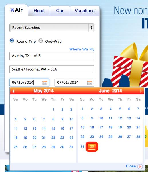 Save Your Points – Southwest And AirTran Schedule Open Through June 30, 2014