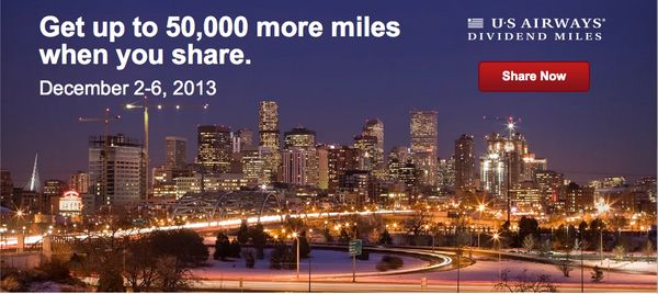 Up To 50,000 US Air Eventually American Airlines Miles For 568