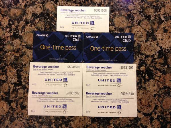 Blog Giveaway 2 United Lounge Passes And 5 Drink Coupons
