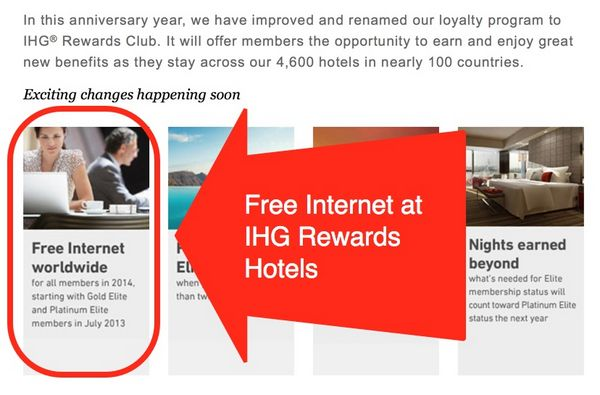 Free Internet at IHG Rewards Hotels…Even if You're NOT Staying at the Hotel!