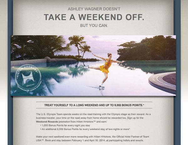 Not So Good Hilton Weekend Promotion