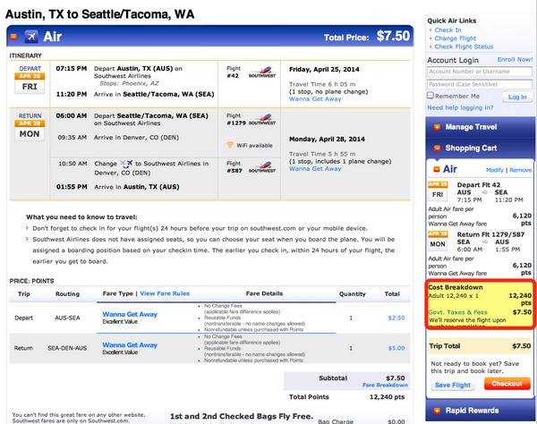 Save Your Points – Southwest And AirTran Schedule Open Through August 8, 2014