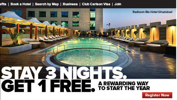 Stay 3 Nights And Get 38,000 Club Carlson Points