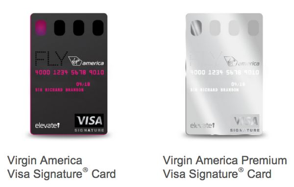 Virgin America Credit Cards Relaunched