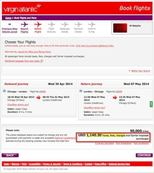 You Will Soon Get Fewer Hilton Points With Your Virgin Atlantic Miles
