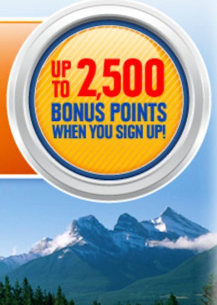 2,500 (~$36 to $42) Free Southwest Points for New Members!