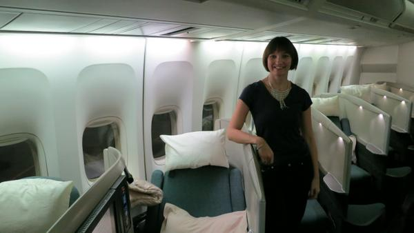Cathay First Class