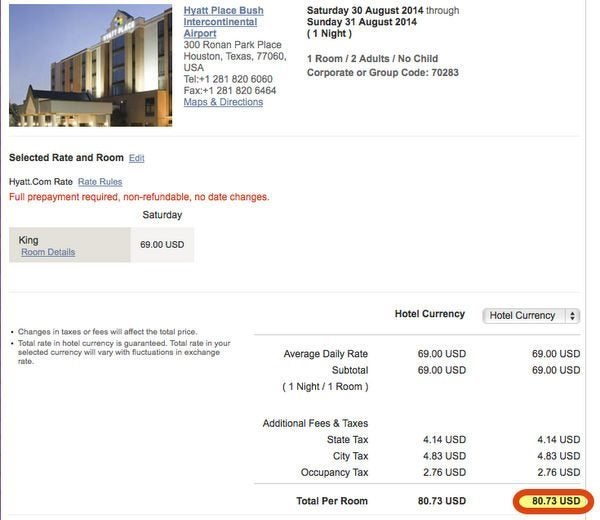 how to use hyatt points