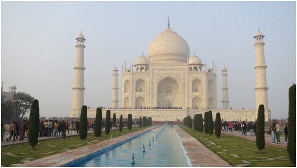 Mother-In-Law's First Trip to India–Seeing the Taj Majal