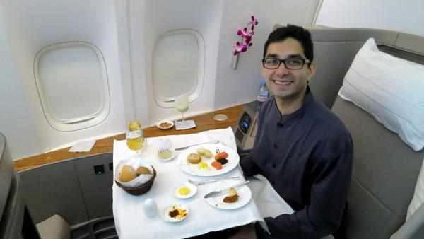 Cathay Pacific First Class Review