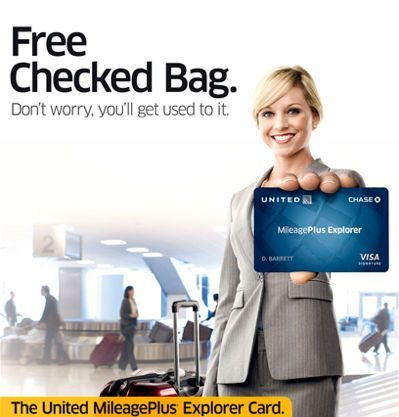 Free Checked Bag On United You Have To Use Your United Card
