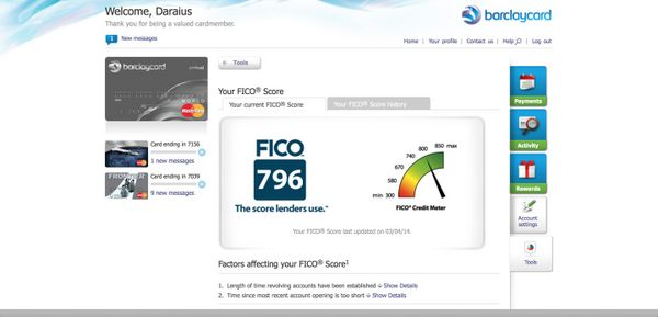 how to get fico score from chase