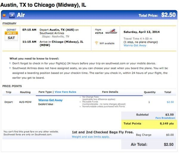 One Week Left To Book Southwest Award Flights Before It Costs More