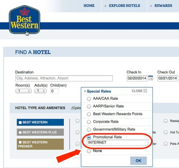 Up To 20 Off And 1,500 Points At Best Western Hotels Before April 6, 2014