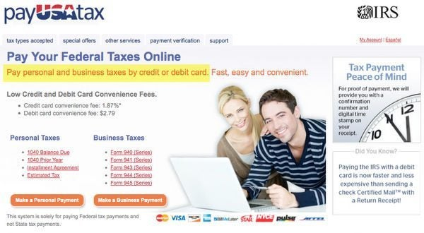 Will You Be Charged Cash Advance Fees For Paying Taxes With A Credit Card