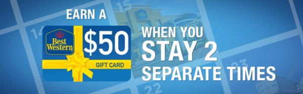 Blog Giveaway: $100 Best Western Gift Card and Spring Promotion!