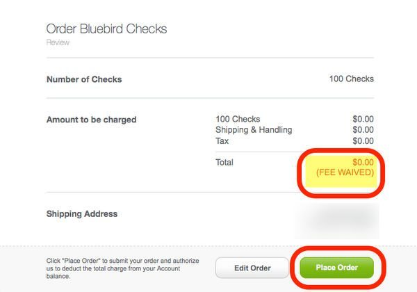 Extended Free AMEX Bluebird Checks Until June 1, 2014