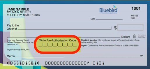 Extended: Free AMEX Bluebird Checks Until June 1, 2014