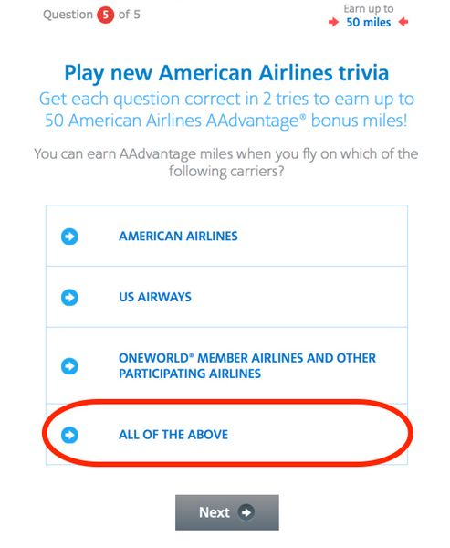 Get 1,000 FREE American Airlines Miles On Facebook In 15 Minutes