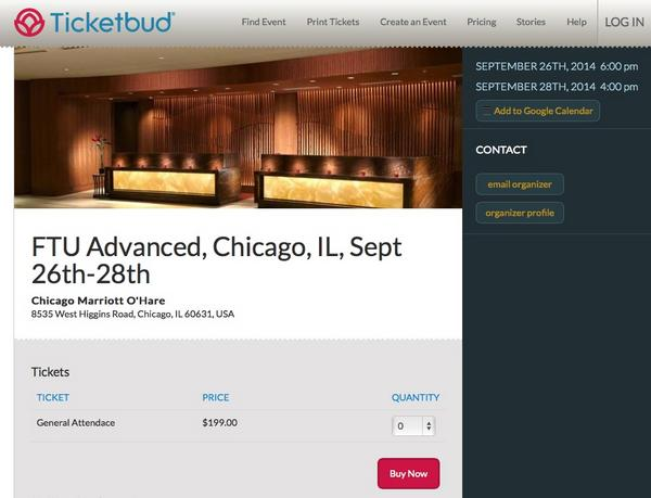 Only A Few Tickets For Frequent Traveler University Advanced In September 2014