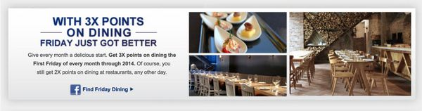 Today Only: Get 3X Points on Dining With Chase Sapphire Preferred
