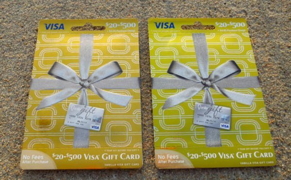 You Can Still Buy Vanilla Visa Gift Cards At CVS
