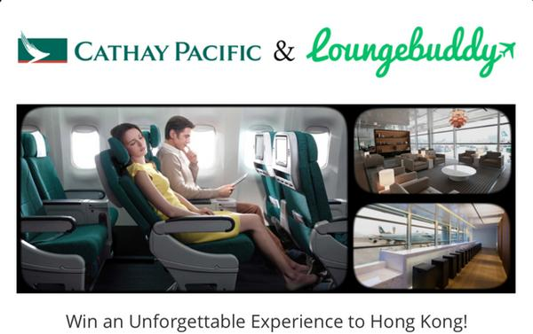 Blog Giveaway: $200 Visa Gift Card From LoungeBuddy And How You Could Win A Free Trip To Hong Kong!