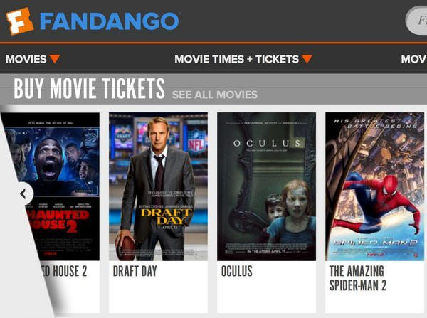 Fandango and Visa Signature:  Buy 1 Get 1 Free Movie Tickets on Fridays