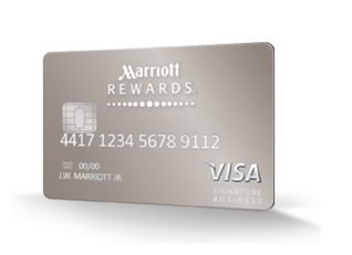Get 50000 points when you sign up for the new chase for Marriott business credit card 70000