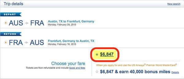 US Airways Buy Miles Promotion Up To 100 Bonus